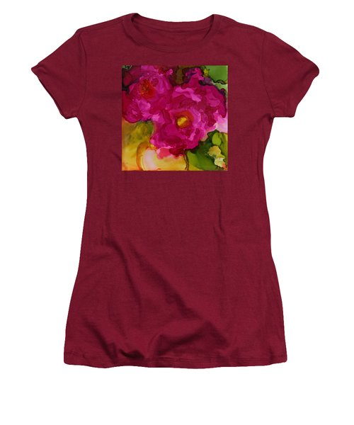 Rose To The Occation Women's T-Shirt (Junior Cut) by Joanne Smoley