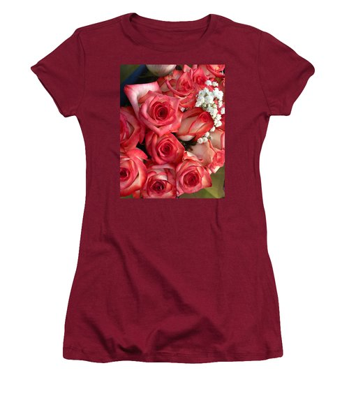 Roses For God Women's T-Shirt (Athletic Fit)