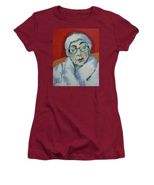 Ruby May Box Birmingham Women's T-Shirt (Junior Cut) by Nop Briex