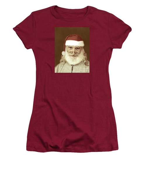 Santa's Day Off Women's T-Shirt (Athletic Fit)