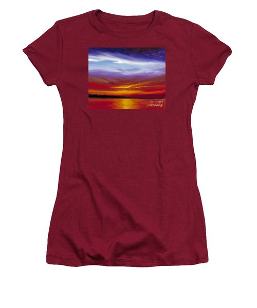 Sarasota Bay I Women's T-Shirt (Junior Cut) by James Christopher Hill