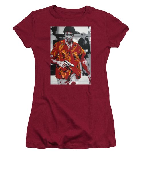 Scarface 2013 Women's T-Shirt (Athletic Fit)