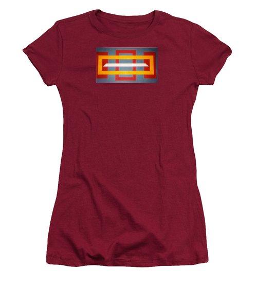 Shapes Women's T-Shirt (Junior Cut) by James McAdams