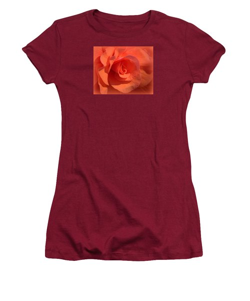 Soft Begonia Women's T-Shirt (Athletic Fit)
