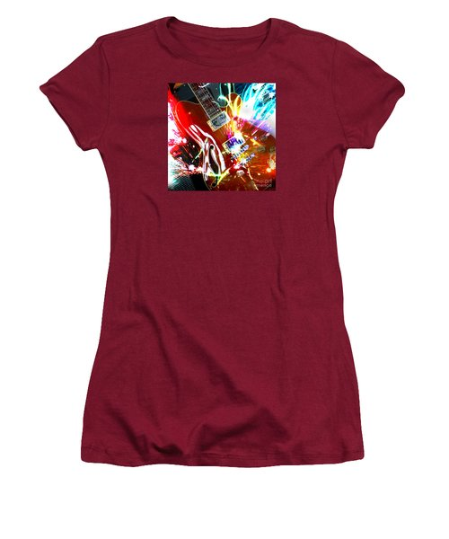 Women's T-Shirt (Athletic Fit) featuring the photograph Sparks Fly by LemonArt Photography