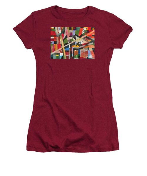 Standard Pipeing Women's T-Shirt (Athletic Fit)