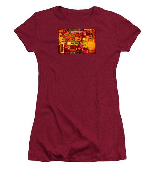 Industrial Autumn Women's T-Shirt (Junior Cut) by Don Gradner
