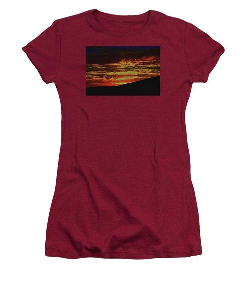 Summer Sunset Rain Women's T-Shirt (Athletic Fit)