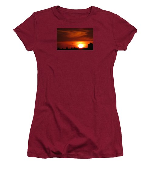 Sundown Women's T-Shirt (Junior Cut) by John Topman