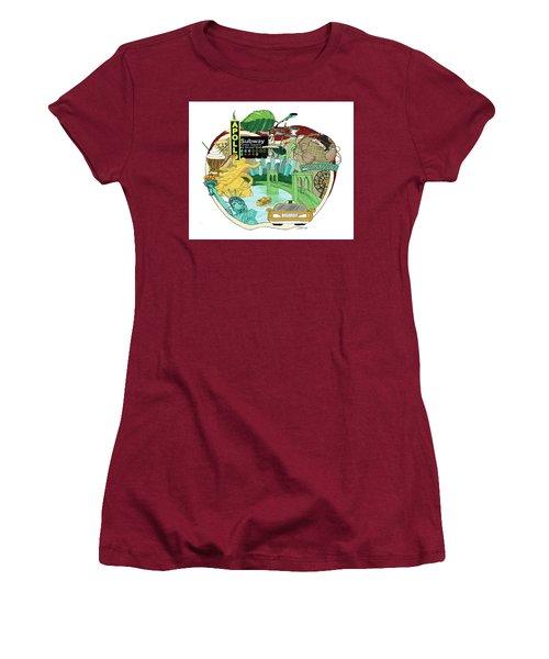 Take A Bite Women's T-Shirt (Athletic Fit)