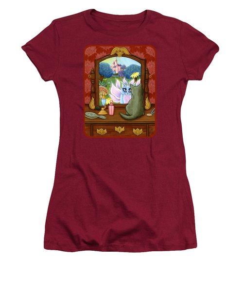 The Chimera Vanity - Fantasy World Women's T-Shirt (Athletic Fit)