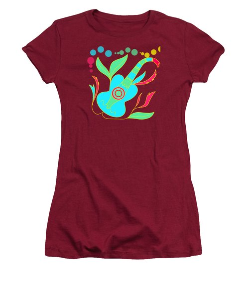 The Guitar Women's T-Shirt (Athletic Fit)