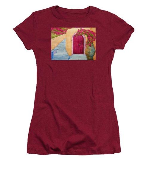 The Hideaway Women's T-Shirt (Junior Cut) by Rand Swift