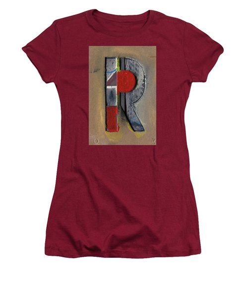 The Letter R Women's T-Shirt (Athletic Fit)