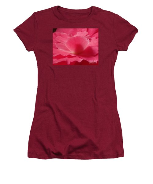 The Power Of Pink Women's T-Shirt (Junior Cut) by Christina Verdgeline