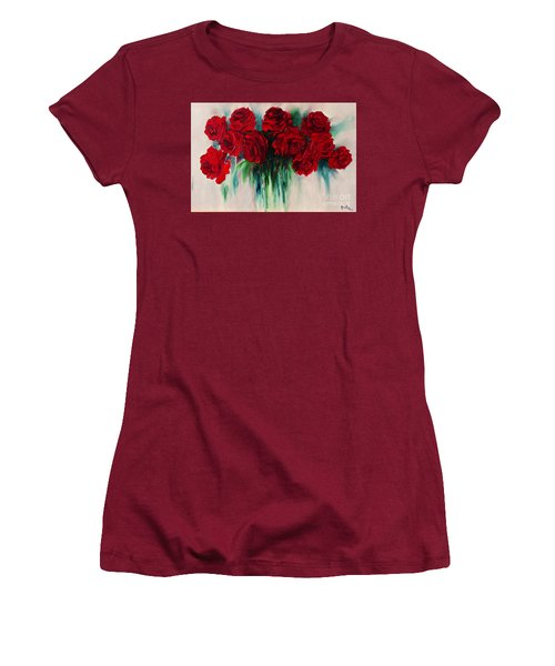 The Roses Of My Summer Women's T-Shirt (Athletic Fit)