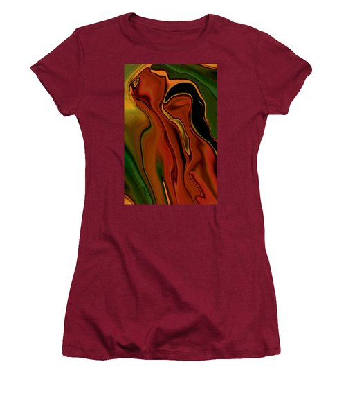 Women's T-Shirt (Junior Cut) featuring the digital art The Two by Rabi Khan