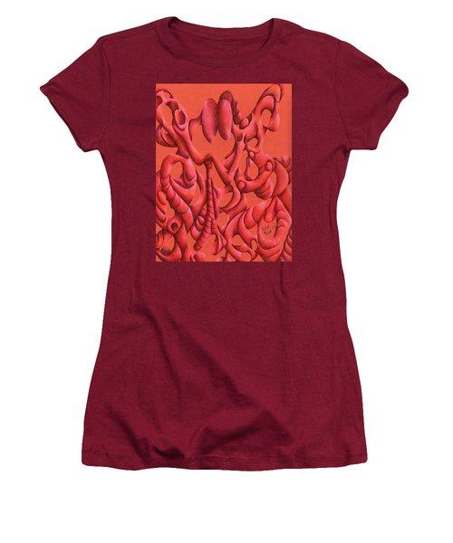 Till Death Do Us Part Women's T-Shirt (Junior Cut) by Versel Reid