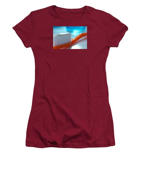 Toothbrush Women's T-Shirt (Athletic Fit)