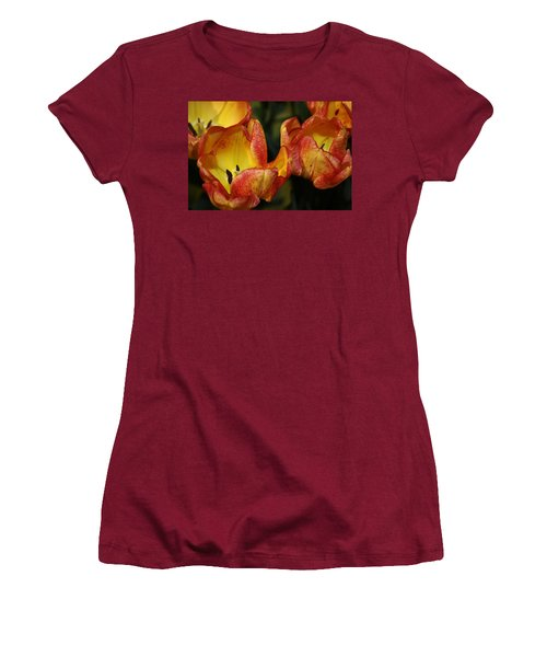 Tulips In The Morning Women's T-Shirt (Athletic Fit)