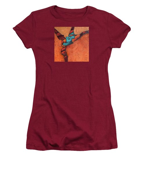 Twisting Women's T-Shirt (Athletic Fit)