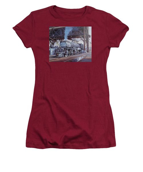 Union Pacific Big Boy Women's T-Shirt (Junior Cut) by Mike  Jeffries
