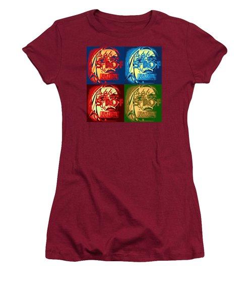 Veggie Pamphlet  Women's T-Shirt (Athletic Fit)