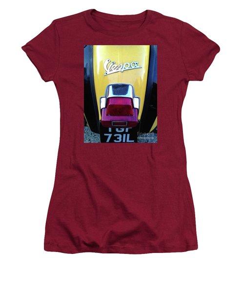Vespa Style Women's T-Shirt (Athletic Fit)