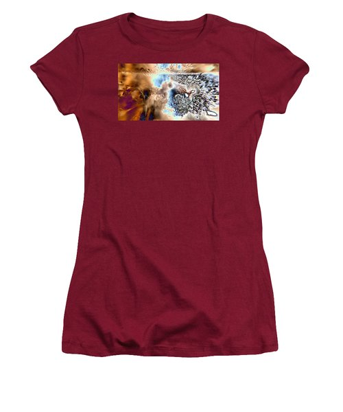 Water Abstract 9 Women's T-Shirt (Athletic Fit)