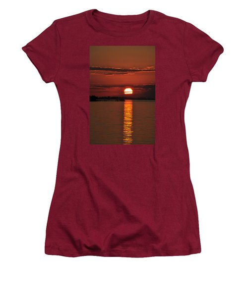 Women's T-Shirt (Junior Cut) featuring the photograph When You See Beauty by Jan Amiss Photography
