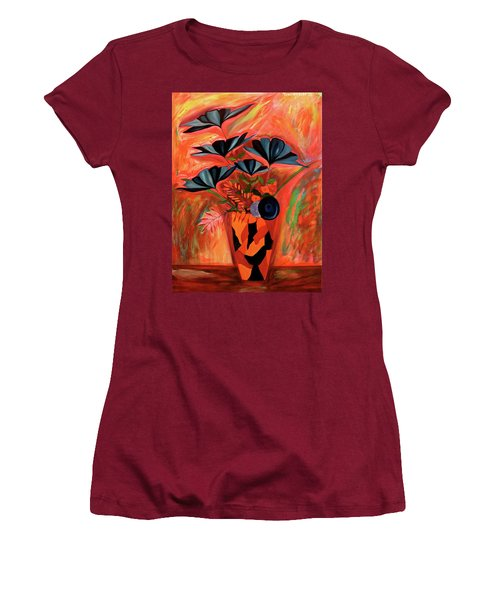 Wild Flowers  A Still Life  Women's T-Shirt (Athletic Fit)