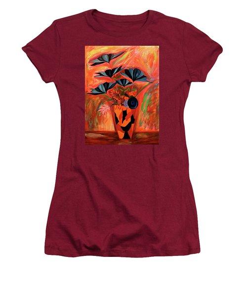 Wild Flowers  A Still Life  Women's T-Shirt (Junior Cut)