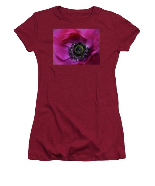 Windflower Women's T-Shirt (Athletic Fit)