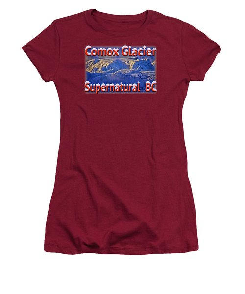 Windstorm On Comox Glacier Women's T-Shirt (Athletic Fit)
