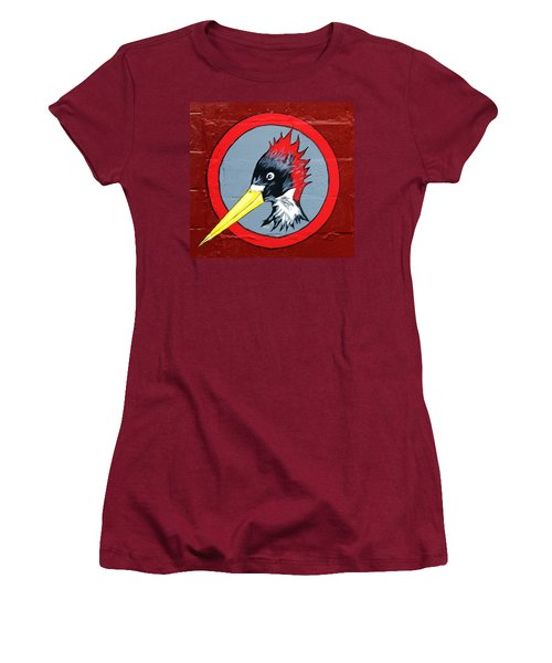Wood Pecker Women's T-Shirt (Athletic Fit)