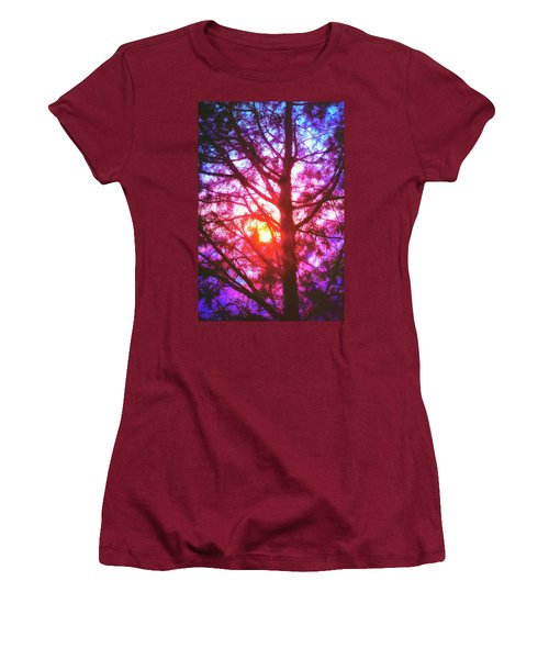Woodland Cathedral Women's T-Shirt (Athletic Fit)