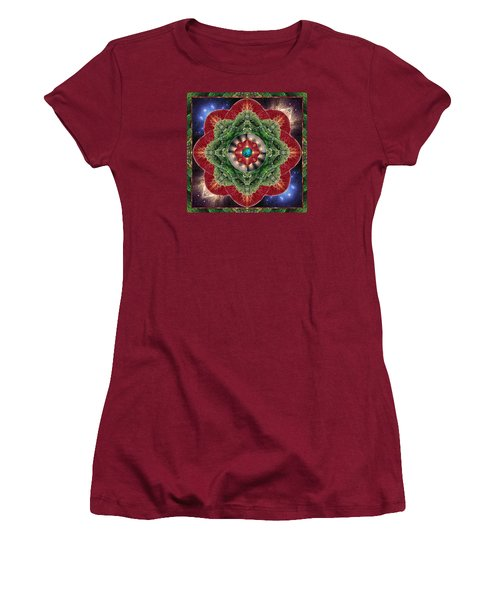 Women's T-Shirt (Junior Cut) featuring the photograph World-healer by Bell And Todd