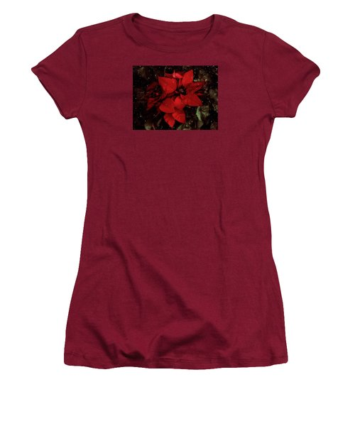 You Know It's Christmas Time When... Women's T-Shirt (Junior Cut) by Elaine Malott