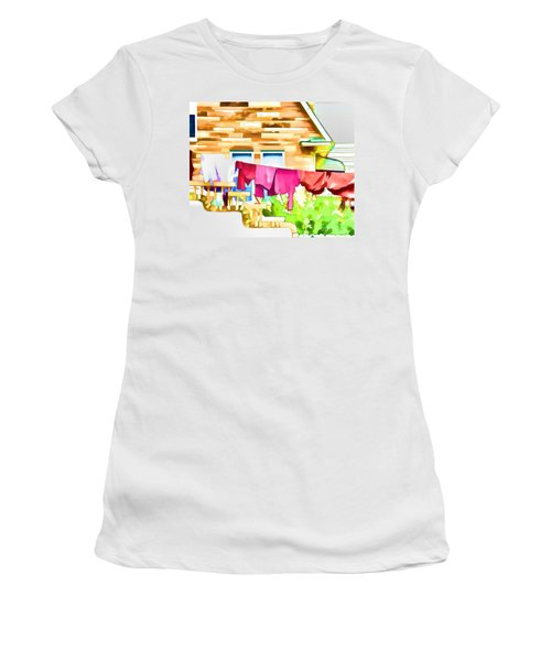 A Summer's Day - Digital Art Women's T-Shirt