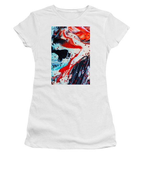 Abstract Original Artwork One Hundred Phoenixes Untitled Number Fifteen Women's T-Shirt (Athletic Fit)