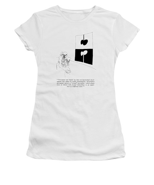 'perceptual And Kinetic Art Have An Intertwined Women's T-Shirt