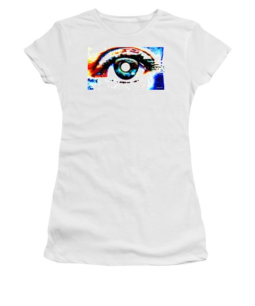 Travelling View  Through 26 Spacetime Dimensions In The Bosonic String Women's T-Shirt (Athletic Fit)
