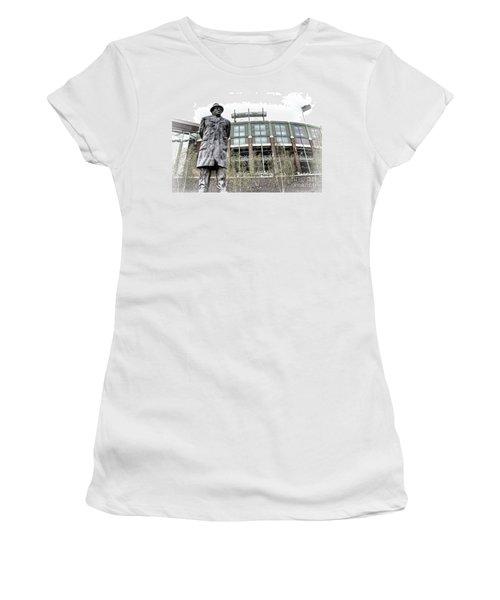 0855 Lombardi Statue Women's T-Shirt