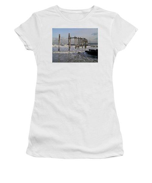 59th St. Pier Women's T-Shirt (Athletic Fit)