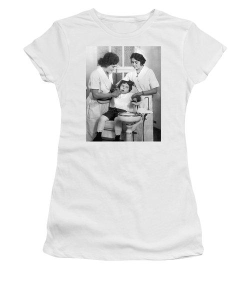 A Reluctant Patient Women's T-Shirt