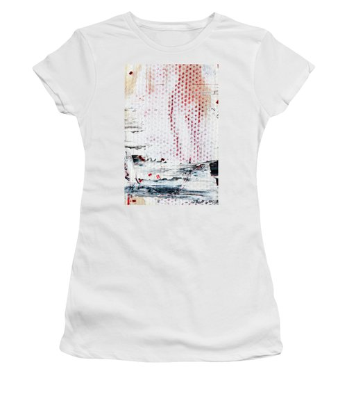 Abstract Original Artwork One Hundred Phoenixes Untitled Number Ten Women's T-Shirt (Athletic Fit)