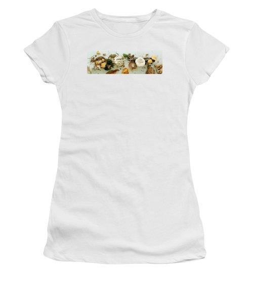 An Assortment Of Mushrooms Women's T-Shirt