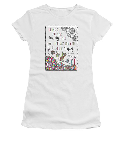 Anne Frank Quote Women's T-Shirt