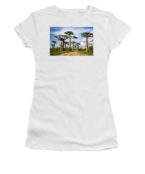Baobab Trees Adansonia Digitata Women's T-Shirt