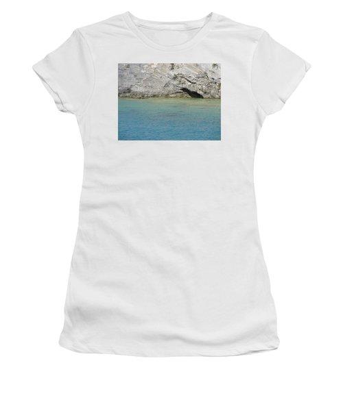 Bermuda Cave Women's T-Shirt (Athletic Fit)